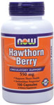 NOW Foods Hawthorn Berry 550 mg 100 Capsules