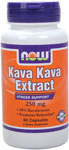 NOW Foods Kava Kava Extract 250 mg 60 Capsules