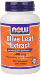 NOW Foods Olive Leaf Extract  500 mg 120 Vcaps