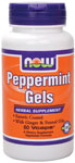 NOW Foods Peppermint Gels  90 Softgels