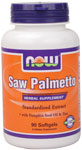 NOW Foods Saw Palmetto Extract 160 mg 90 Softgels