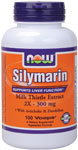 NOW Foods Silymarin Milk Thistle Extract  300 mg 100 Vcaps