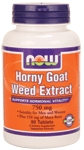 NOW Horny Goat Weed Extract 750mg 90 Tablets
