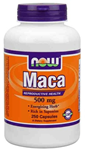 NOW Foods Maca 500 mg 250 Capsules