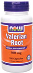 NOW Foods Valerian Root 500 mg 100 Capsules