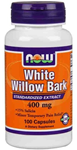 NOW Foods White Willow Bark 400 mg 100 Capsules