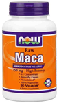 NOW Foods Raw Maca 750 mg 90 Capsules
