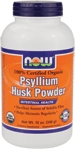 NOW Foods Organic Psyllium Husk Powder 12 Ounces