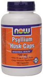NOW Foods Psyllium Husk Caps 700 mg 180 Capsules
