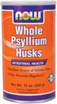 NOW Foods Whole Psyllium Husks 12 Ounces