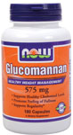 NOW Foods Glucomannan 575 mg 180 Capsules