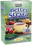 NOW Foods BetterStevia Certified Organic 75 x 1 gram Packets