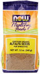 NOW Foods Organic Alfalfa Seeds 12 oz ( 340 g)