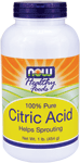NOW Foods Citric Acid Powder 1 Pound (454 g)