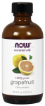 NOW Foods Grapefruit Oil 4 Fl. Ounces (118 ml)