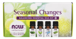NOW Foods Seasonal Changes Balancing Essential Oils Kit