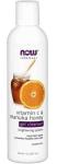 NOW Foods Vitamin C & Manuka Honey Gel Cleanser 8 Ounces
