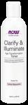 NOW Foods Clarify & Illuminate Toner 8 Ounces (237 ml)