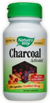 Natures Way Charcoal Activated 100 Capsules