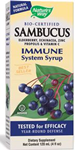 Natures Way  Sambucus Immune System Syrup 4 fl oz (120ml)