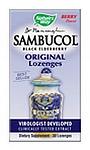 Natures Way  Sambucus  Black Elderberry Extract 30 Lozenges
