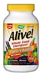 Natures Way Alive! No Iron Added 180 Tablets