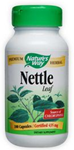Natures Way Nettle Herb 435 mg 100 Capsules