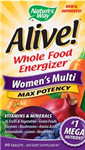 Natures Way Alive! Womens Multi Max Potency 90 Tablets