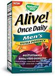 Natures Way Alive! Mens Multi Ultra Potency 60 Tablets