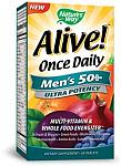 Nature's Way Alive! Men's 50+ Multi Ultra Potency 60 Tablets