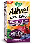 Natures Way Alive! Womens 50+ Multi Ultra Potency 60 Tablets