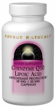 Source Naturals  Coenzyme Q10 / Lipoic Acid   60 Capsules