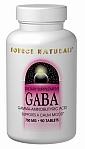 Source Naturals GABA 750 mg 90 Tablets