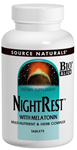 Source Naturals NightRest™ 200 Tablets