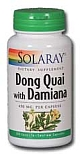 Solaray  Dong Quai with Damiana 430 mg 100 Capsules