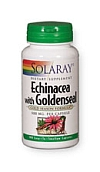Solaray Echinacea with Goldenseal Root 100 Capsules