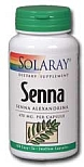 Solaray  Senna 470 mg 100 Capsules