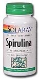 Solaray Spirulina 410 mg 100 Capsules