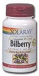 Solaray Bilberry Extract 60 mg 120 Capsules