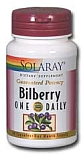 Solaray One Daily Bilberry 30 Capsules