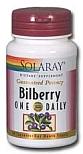 Solaray One Daily Bilberry 30 Capsules