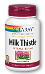 Solaray Milk Thistle Extract 175 mg 60 Capsules