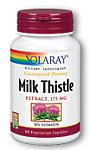Solaray Milk Thistle Extract 175 mg 60 Capsules