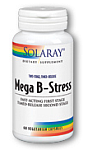 Solaray Two-Stage Mega B-Stress 60 Capsules