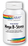 Solaray Two-Stage Mega B-Stress 120 Capsules
