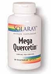 Solaray Mega Quercetin 1,200 mg  60 Vegetarian Capsules