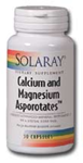 Solaray Calcium and Magnesium Asporotates™ 240 Capsules