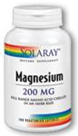 Solaray Magnesium 200 mg 100 Capsules