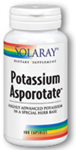 Solaray Potassium Asporotate™ 100 Capsules