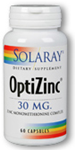Solaray OptiZinc® 30 mg 60 Capsules